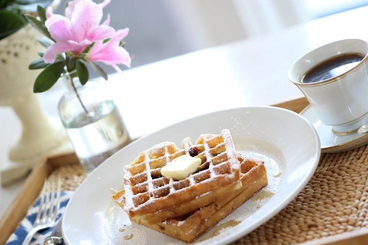 A tried and true Blueberry Waffle recipe that is SO much better than anything…