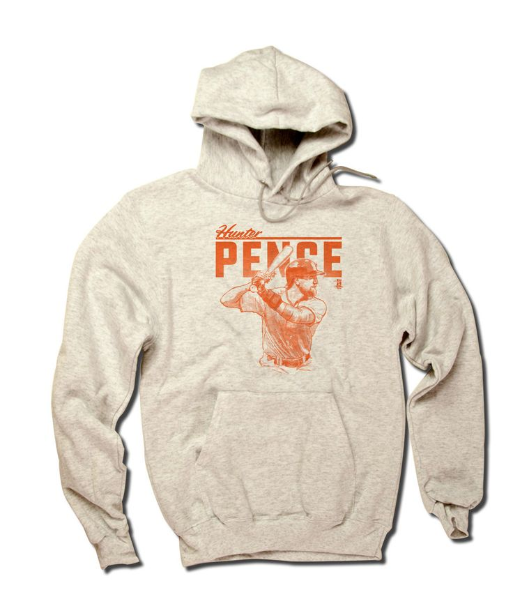 Hunter Pence MLBPA Officially Licensed San Francisco Hoodie S-3XL Hunter Pence Grunge O