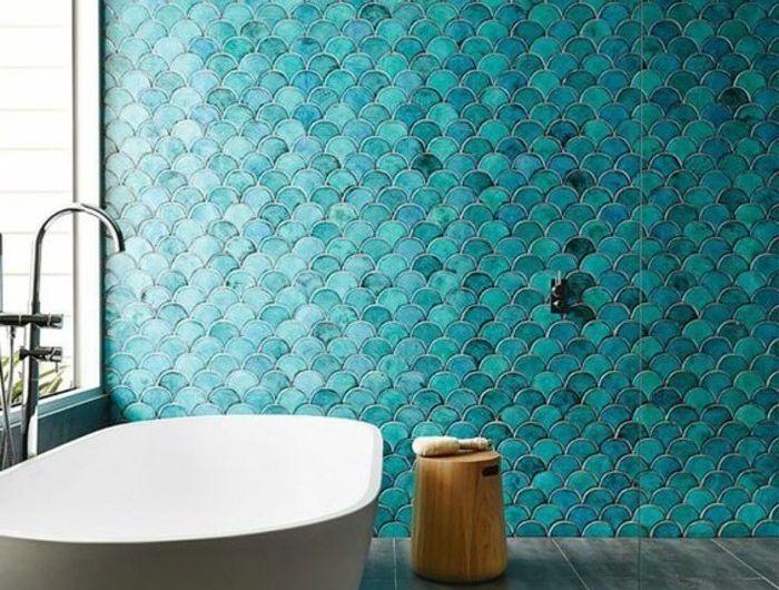 1001 Designs Uniques Pour Une Salle De Bain Turquoise Avec