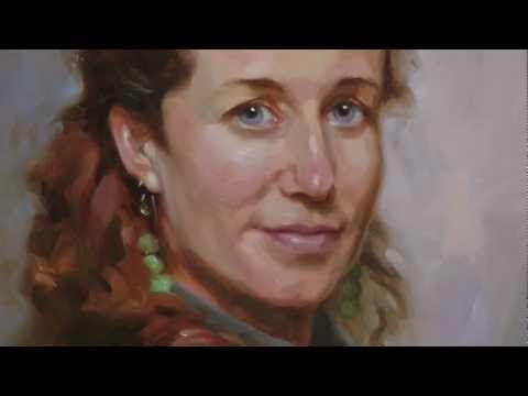 "Portrait painting video ""Learn how to make flesh colors instruction.""…"