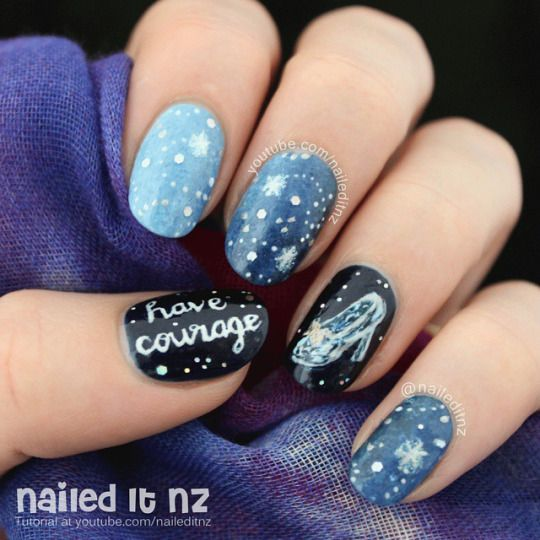 481 Best Images About Disney Nails On Pinterest
