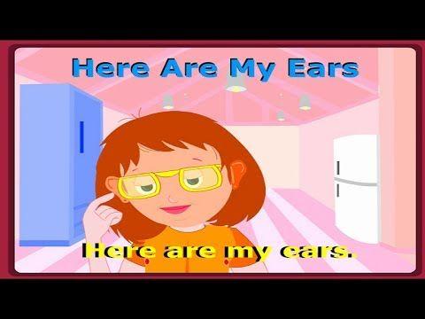 Here Are My Ears || Kids Nursery Rhyme