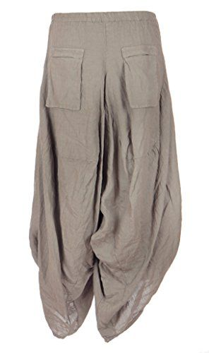 Ladies Womens Italian Lagenlook Quirky 2 Flap Slit Pocket Linen Boho Harem Parachute Tulip Trouser Pants Leggings Joggers One Size UK 8-12 (One Size, Mocha) Generic http://www.amazon.co.uk/dp/B00W420C7S/ref=cm_sw_r_pi_dp_7LXnvb1GTWNQ8