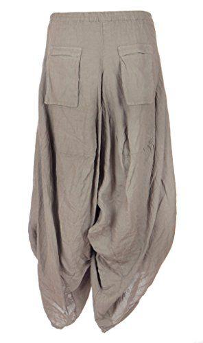 Ladies Womens Italian Lagenlook Quirky 2 Flap Slit Pocket Linen Boho Harem Parachute Tulip Trouser Pants Leggings Joggers One Size UK 8-12 (One Size, Mocha) Generic http://www.amazon.co.uk/dp/B00W420C7S/ref=cm_sw_r_pi_dp_7LXnvb1GTWNQ8