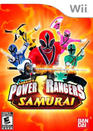 nice Power Rangers Games | Power Rangers Samurai - Nintendo Wii