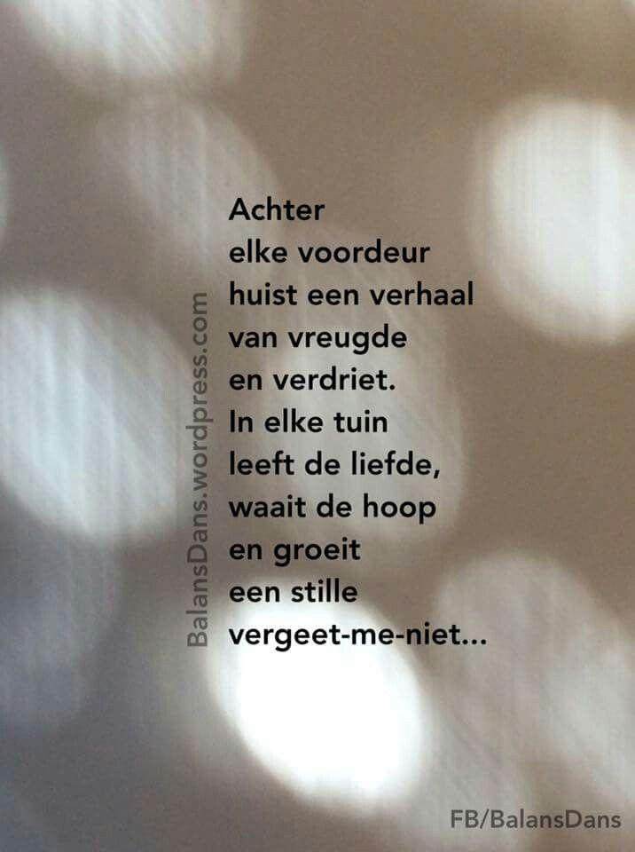 #voordeur #vreugde #verdriet #liefde #hoop