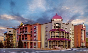 Groupon - One- or Two-Night Stay for Two with Optional Dining and Casino Credits at Boomtown Hotel & Casino in Reno, NV in Reno, NV. Groupon deal price: $33.00