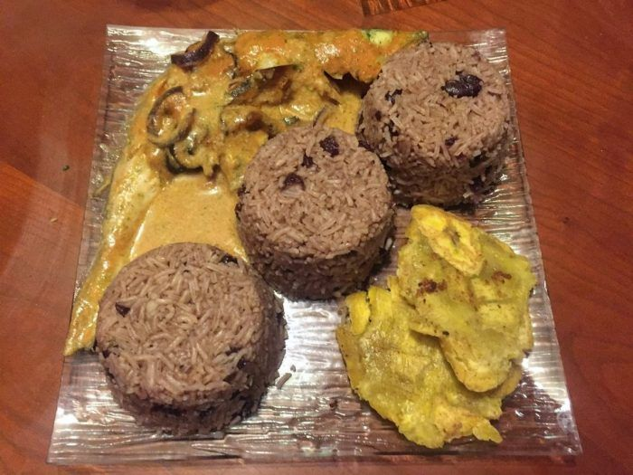 diri kole haitian food