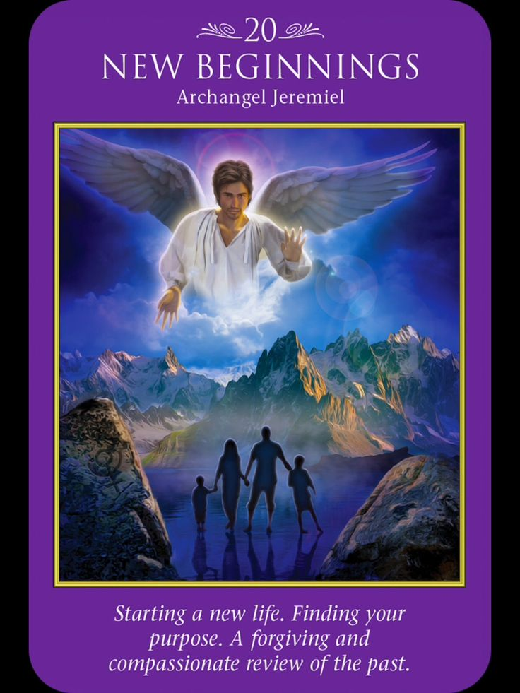 Archangel Jeremiel: Starting a New Life