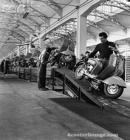 Lambretta LD Line Assembly