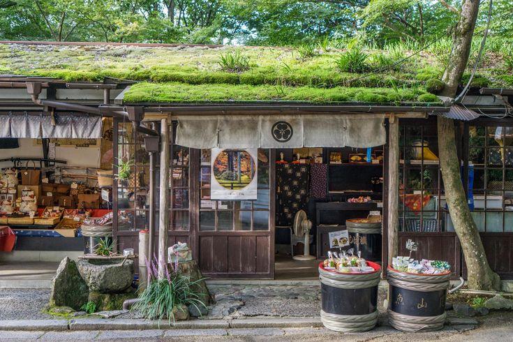 A shop at Sanzen-in in Kyoto.