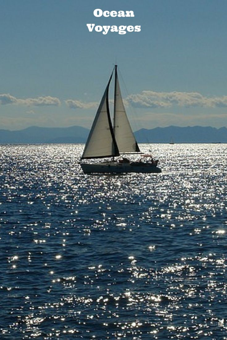calm seas, rogue waves, storms and hurricanes. Ocean travel adventures........