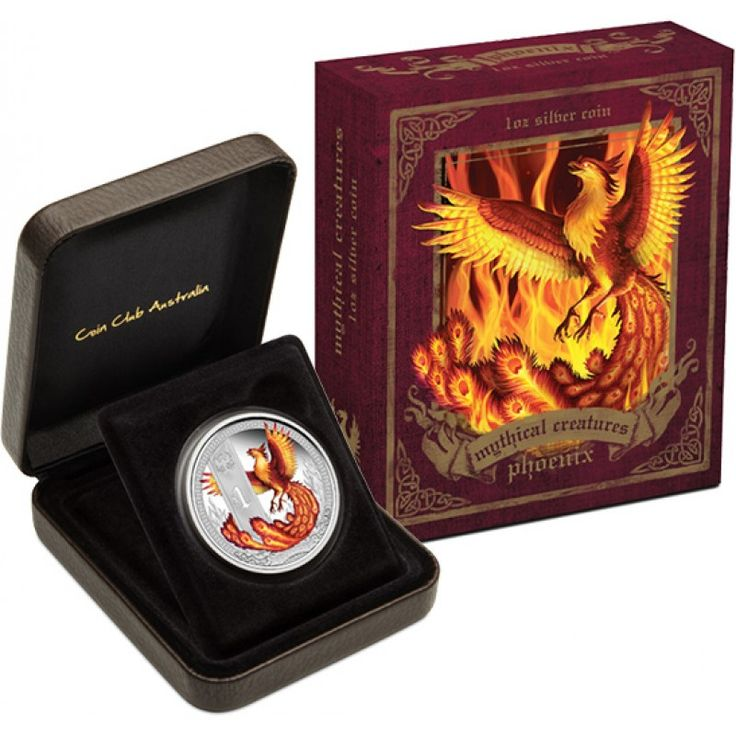2013 Mythical Creatures Phoenix 1oz Silver Proof Coin