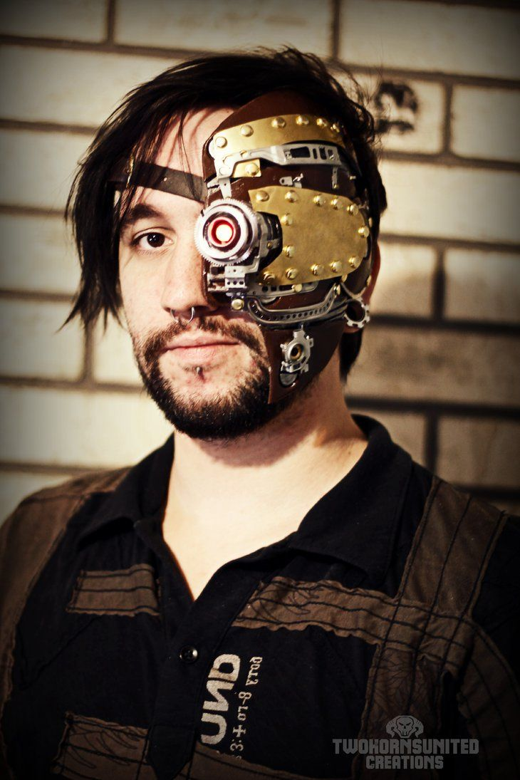 Steampunk Dynamic Ocular Prosthesis Enhancement by TwoHornsUnited
