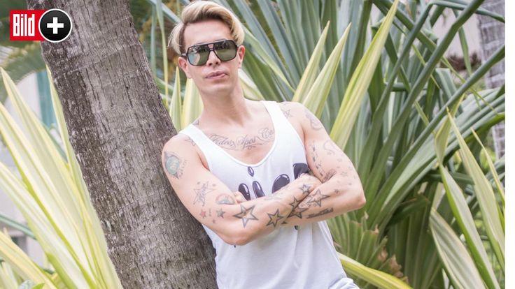 *** BILDplus Inhalt *** Dschungelcamp-Dritter - Florian Wess erklärt seine 7 Lieblings-Tattoos