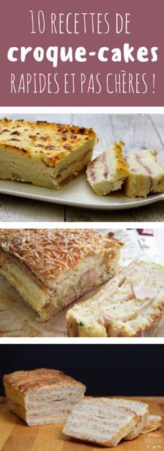 Au jambon, au fromage, au chorizo, aux tomates séchées : 10 recettes de croque cakes !