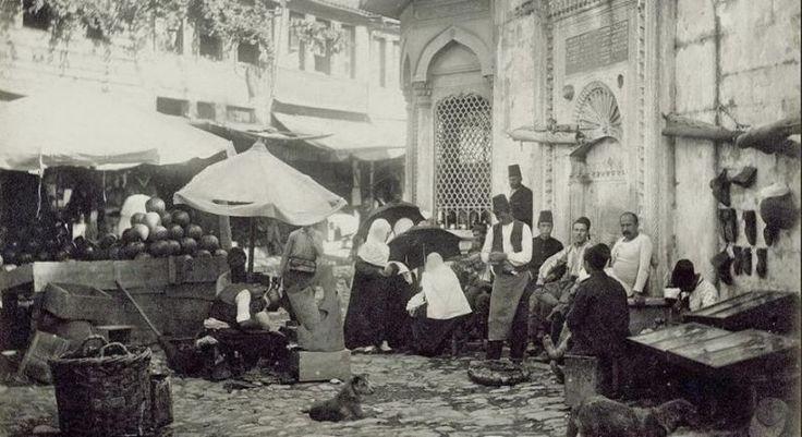 Üsküdar Çarşısı- 1890's