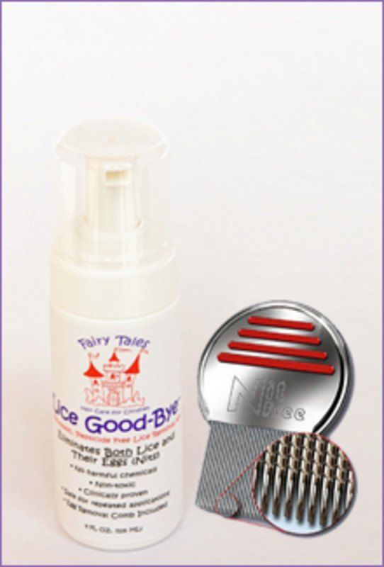 FAIRY TALES LICE GOOD BYE WITH NIT COMB
