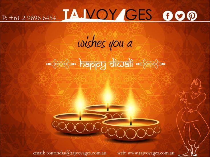 Taj Voyages wishes you a very happy Diwali