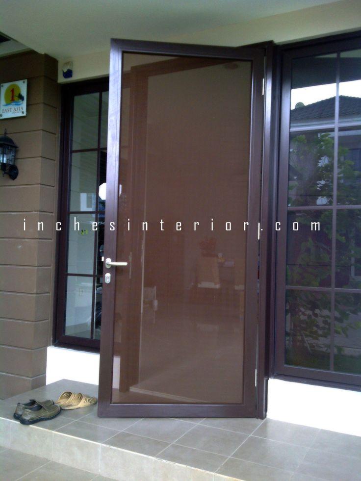 Pin oleh inches interior di Kawat nyamuk | Interior, Pintu ...