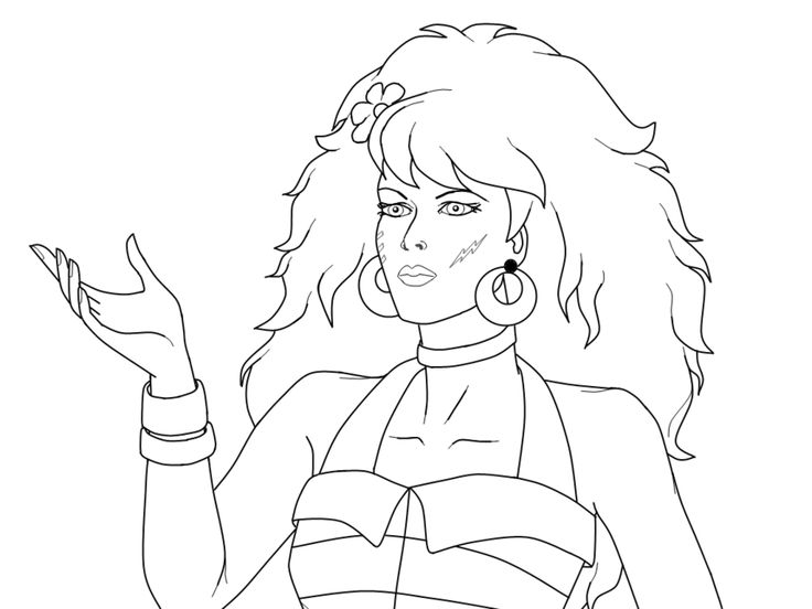 jem coloring pages | 45 best Coloriage JEM images on Pinterest | Crayon art ...
