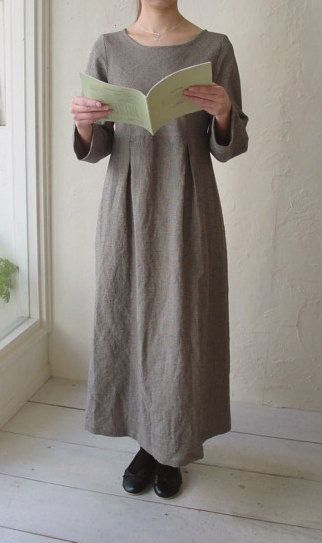 KNEU patroon / No.34P Box Pleets jurk
