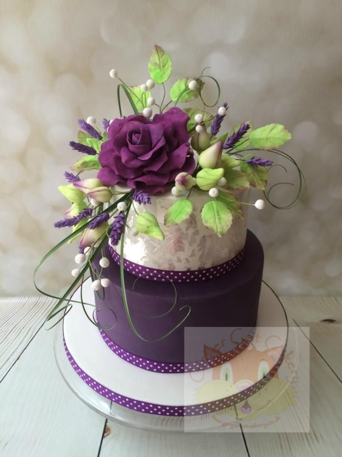 Birthday Cakes Cats And Purple On Pinterest