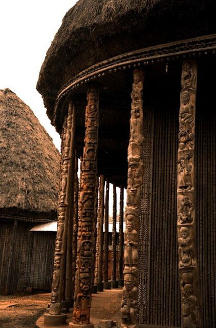 Artagence Castle Africain Cameroun - Bandjoun #artagence