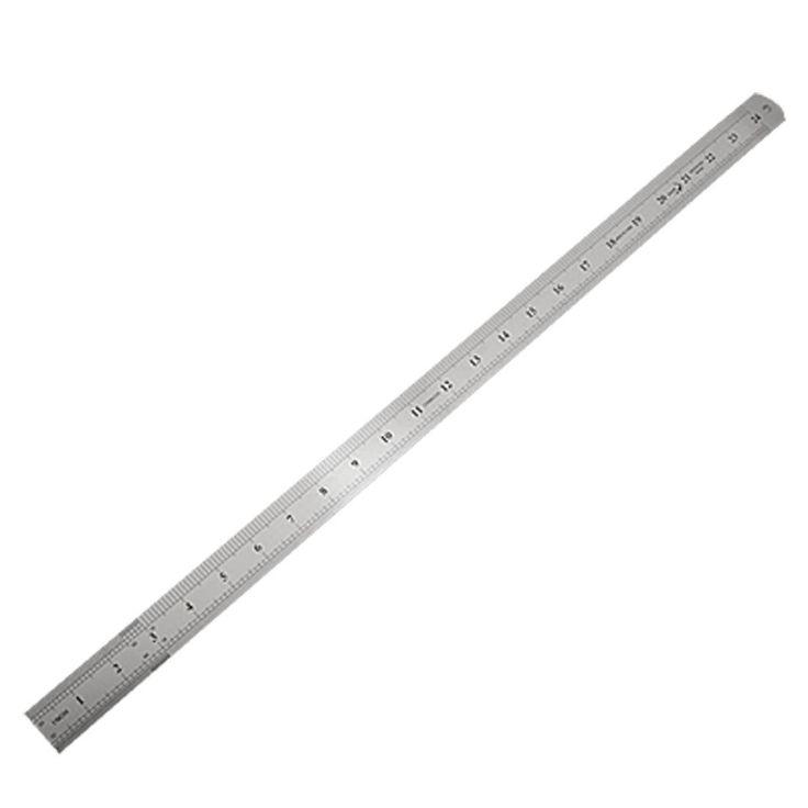 SOSW-Из Нержавеющей Стали 60 см 24.6 Дюймов Измерения Длинные Прямые Правитель