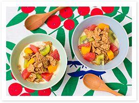 ケロッグ オールブラン「腸活おすすめレシピ」