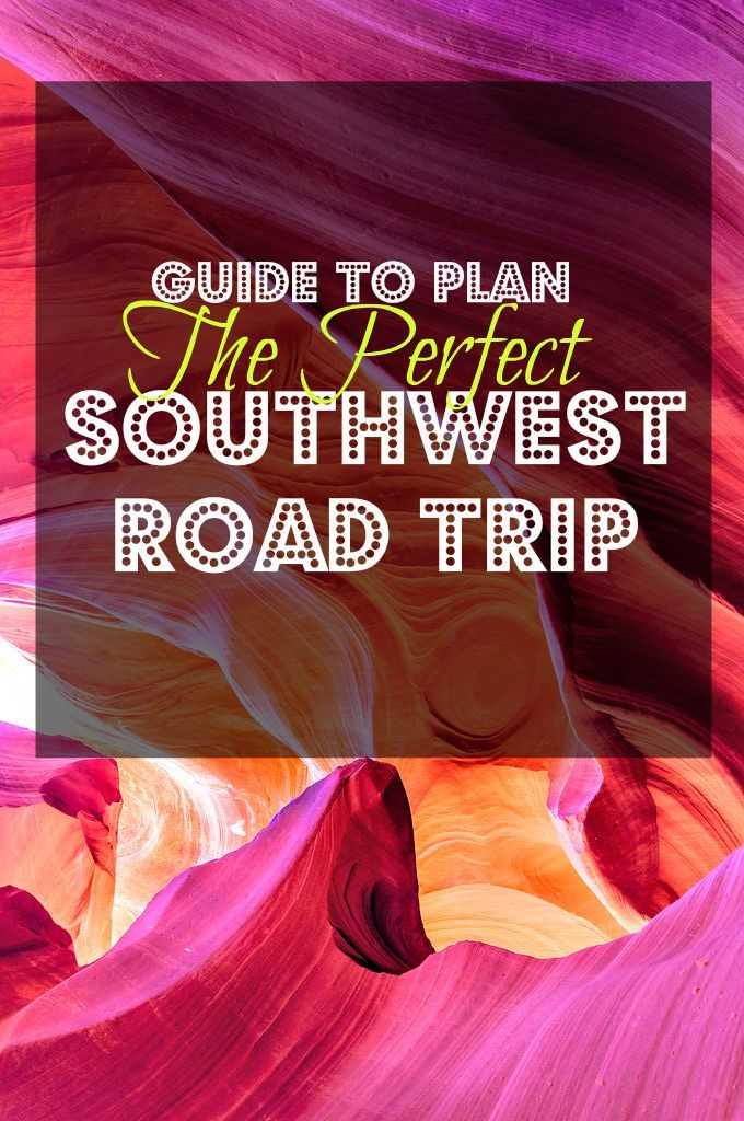 Here's what you need to plan a perfect Southwest of USA road trip. Guide, Itinerary, Tips and Map.   A World to Travel