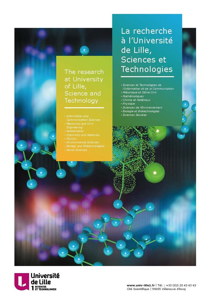 Université Lille 1 - La recherche à Lille 1