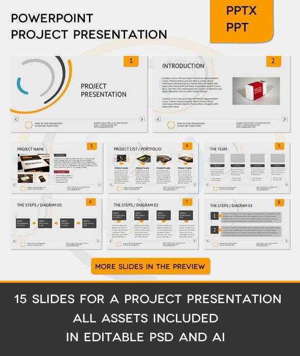 ppt slides for project presentation