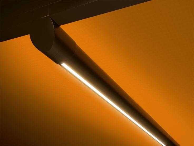markilux 879 - Διαθέτει δικό του σύστημα φωτισμού, με LED lines στους οδηγούς ή την μπάρα υποστήριξης και LED spots στην μπάρα.