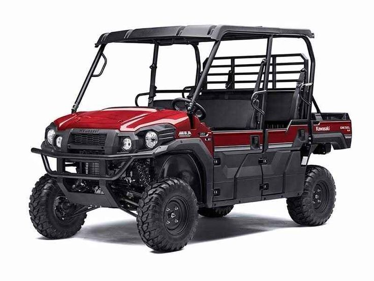 New 2017 Kawasaki Mule PRO-DXT EPS LE Diesel ATVs For Sale in New Jersey. The Kawasaki Difference: Kawasaki StrongThe 2017 Mule PRO-DXT Side x Side packs incomparable strength and endless durability backed by over a century of Kawasaki Heavy Industries, Ltd. engineering. For an innovative way to get the job done, the Mule PRO-DXT features a Trans Cab, allowing it to convert back and forth from three-passenger to six-passenger mode with ease.