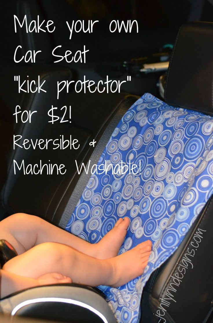 DIY Car Seat Kick Protector