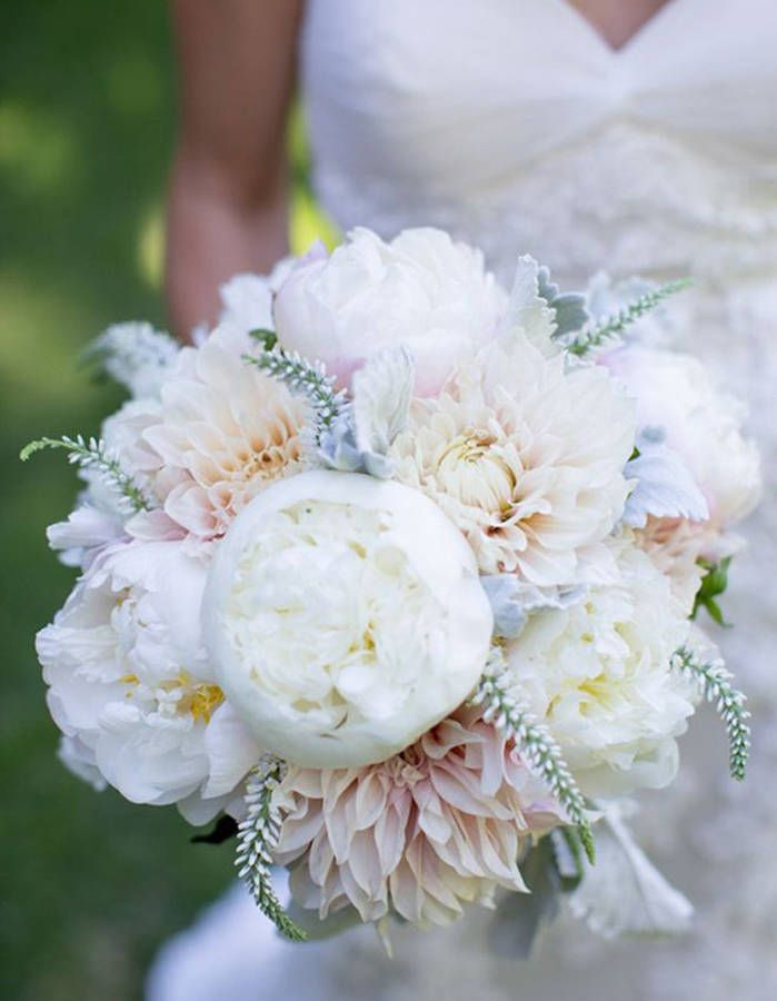 Bouquet de mariée dahlia