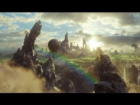 """CGI VFX Breakdowns HD: """"Oz The Great and Powerful"""" Balloon Crash, by Sony Pictures Imageworks"""