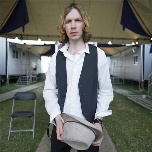 Beck Manchester, TN 2006  © DANNY CLINCH, 2006  photographed at the Bonnaroo Music Festival