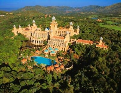 Palace Hotel, Sun City, South Africa