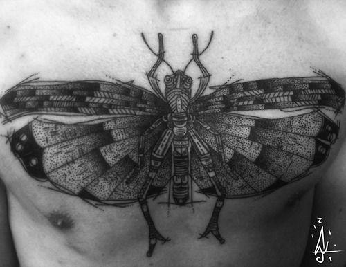 Chest piece by Jorge Ramírez at Tatau Obscur, Berlin,... #tattoos #tattoo #bodyart