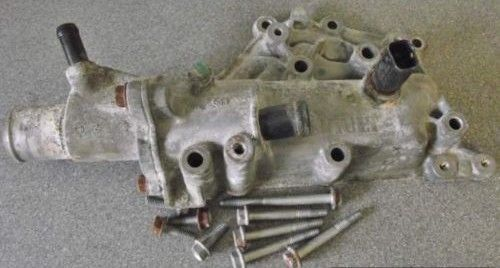 Renault Laguna 1800cc 16v 2003 Thermostat Housing 7700600514 Listing in the Thermostats & Parts,Cooling System,Cars & Trucks Parts & Accessories,Cars & Vehicles Category on eBid United Kingdom