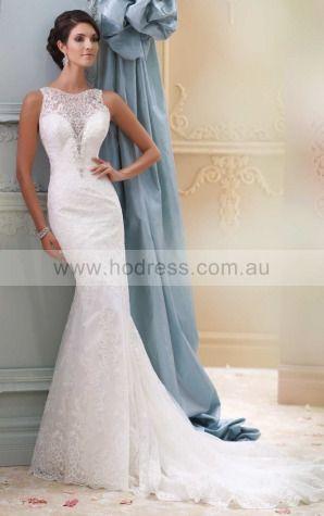 Sheath Jewel Empire Sleeveless Floor-length Wedding Dresses wbs0250--Hodress