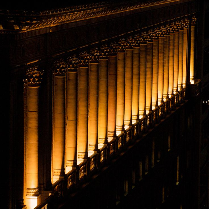 architecture building lights - photo #32