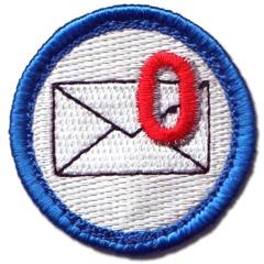 zero e-mails meret badge via NerdMeritBadges