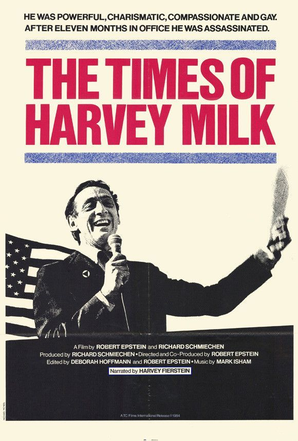 Times of Harvey Milk 27x40 Movie Poster (1984)
