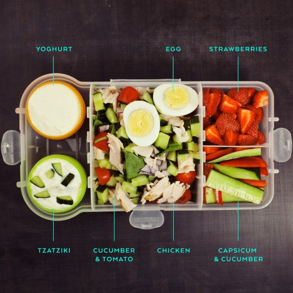 healthy lunchbox ideas for grown ups