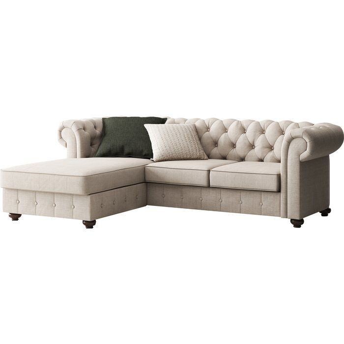 Quitaque Chesterfield 84 Rolled Arm Sofa Sectional Sofa Furniture Rolled Arm Sofa