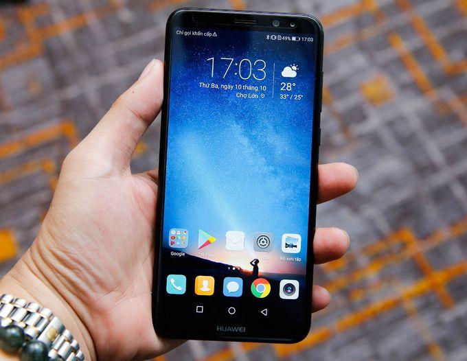 Huawei được trang bị màn hình IPS kích thước 5,9 inch, do có tỉ lệ hiển thị 18:9 nên máy đạt độ phân giải Full HD + (1.080 x 2.160 pixel).  Ốp lưng Nova 2i giá rẻ Tư vấn và đặt hàng: 1900.63.64.60 – 0932.110.221 Địa chỉ cửa hàng: 120 Lê Quang Định, P.14, Q.Bình Thạnh, TP.Hồ Chí Minh #oplunghuaweinova2i #baodahuaweinova2i
