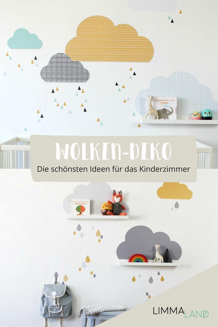 Schöne Wolken Kinderzimmer könnt ihr ganz einfach it unseren Wandtattoos gestalten. Im Limmaland Shop gibt es sie in verschiedenen Farben. Sucht euc…